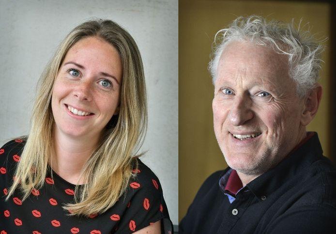 Journalisten Kelly Adams en Hans Brok gaan in debat.