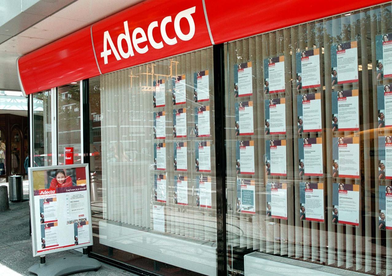 Een vestiging van Adecco. Foto ter illustratie.