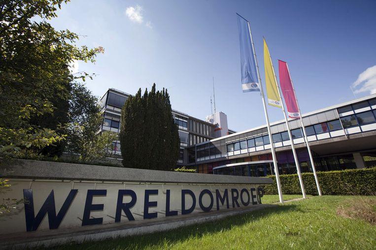 Het gebouw van de Wereldomroep in Hilversum Beeld ANP