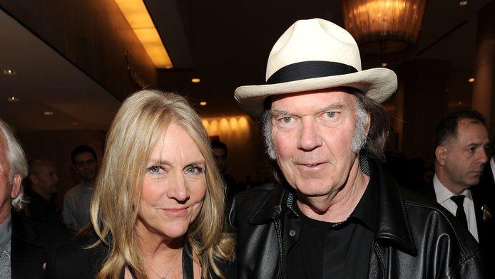 Muzikant Neil Young en Pegi.