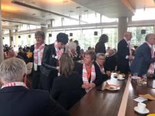 Brabantse burgerdeputatie luncht in het Haagse provinciehuis