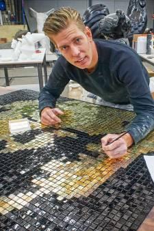 Stukadoor Remon uit Schijndel valt nu op in kunstwereld én bij sjeik van Dubai