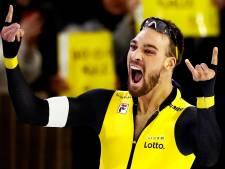 Olympisch ticket voor Nuis op 1000 meter in baanrecord