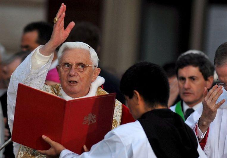 De redactie van de Gaykrant is overspoeld met telefoontjes, mailtjes en brieven waarin woedend werd gereageerd op recente uitspraken van Vaticaanse zegslieden. Foto EPA/Maurizio Brambati Beeld