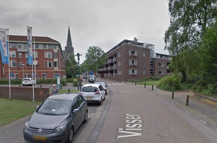 Het ongeluk gebeurde aan de Visser in Deurne.