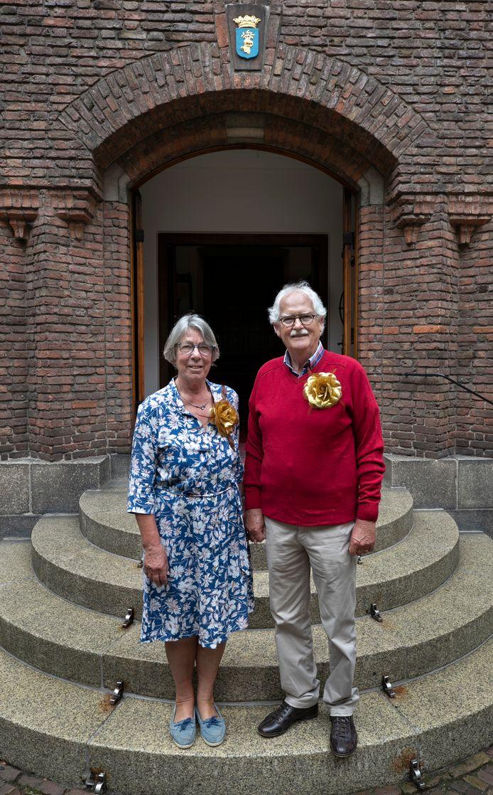 Marieke van Bommel verraste haar ouders die 50 jaar getrouwd zijn.