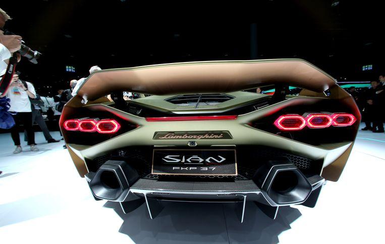Lamborghini Sian FKP37 .