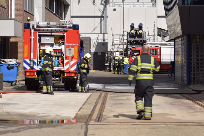 Brand bij Rendac in Son.