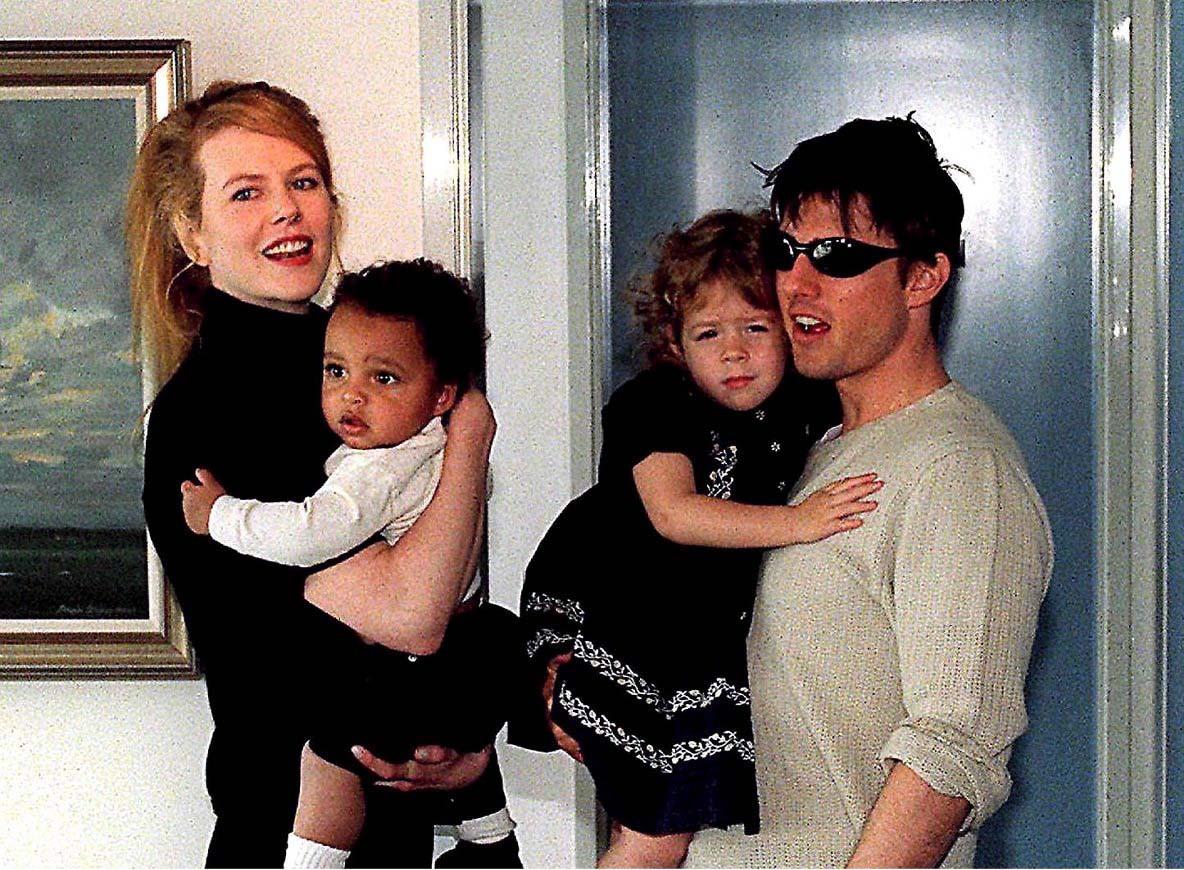 Nicole Kidman adopteerde samen met Tom Cruise Connor en Isabella.