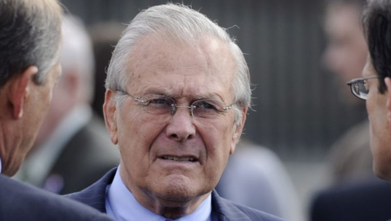 Donald Rumsfeld. Beeld epa