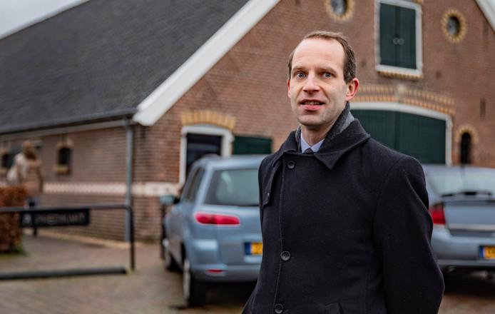 Predikant Rinie van Reenen van de Immanuëlkerk in Oldebroek.