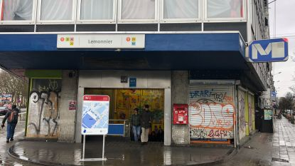 """Dubbel zoveel politie aan station Lemonnier: """"Illegale multirecidivisten zijn groot probleem"""""""