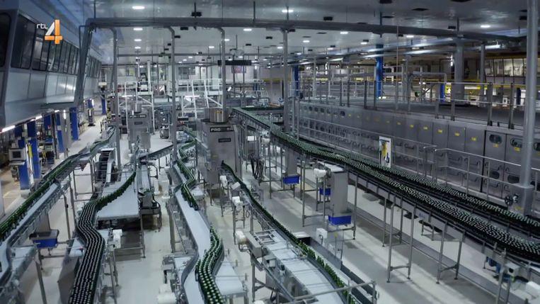 De Heineken brouwerij in Zoetermeer Beeld -
