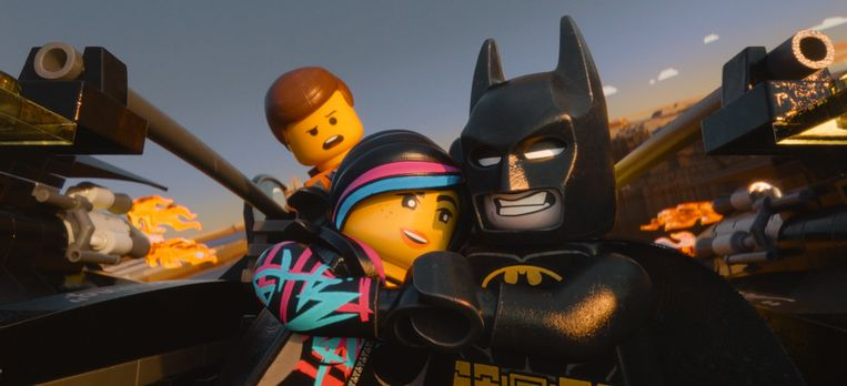 De 'Lego Batman Film' was vorig jaar een groot succes.  Beeld AP