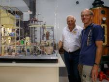 Eerste deel maquette suikerfabriek na vier jaar af