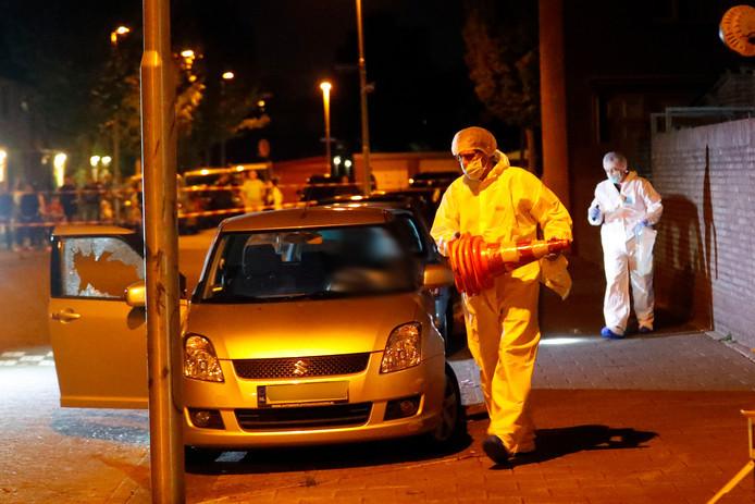 September vorig jaar werd Fouad Rashidi zittend in zijn auto doodgeschoten. De verdachte woonde vlakbij de Sionstraat, waar die schoten vielen. Kinderen zagen het gebeuren.