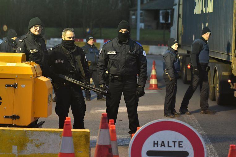 Onder andere dankzij de controles aan de grensovergang in Rekkem is de criminaliteit in Zuid-West-Vlaanderen fel gedaald.