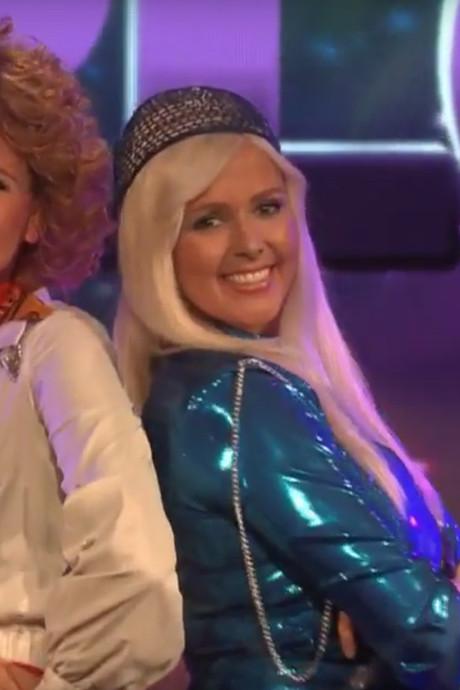 RTL-kijkers willen Monique Smit in catsuit terugzien na 'heerlijke' ABBA-act