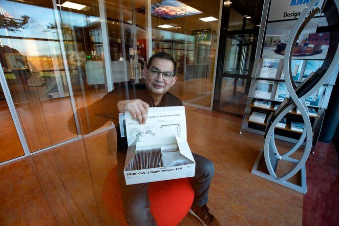 PGVZ-directeur Gosse Noppert vraagt voor een sneltest 50 euro.