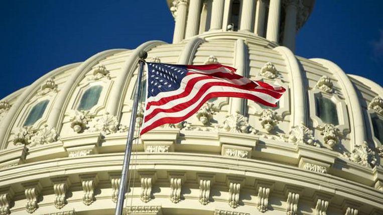 Capitol Hill in Washington DC. Beeld anp