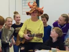 Basisschool Het Startblok in Harderwijk in de race voor lied op cd Kinderen voor Kinderen