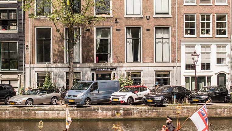 De Nieuwe Herengracht 95 bood onderdak aan tal van maatschappelijke organisaties Beeld Eva Plevier
