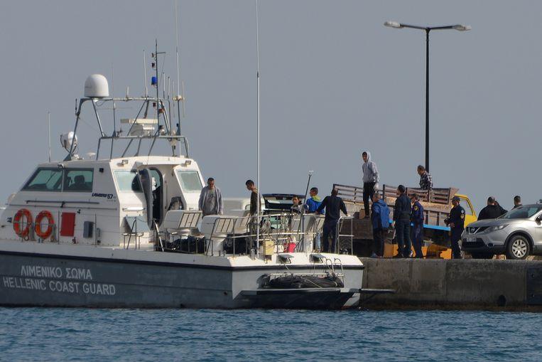 De Griekse kustwacht onderschept regelmatig boten met vluchtelingen. (archieffoto)