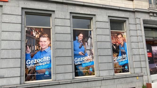 Aan keuze geen gebrek: Albert Heijn opent nieuwe winkel op Kouter tussen Delhaize en Cru van Colruyt