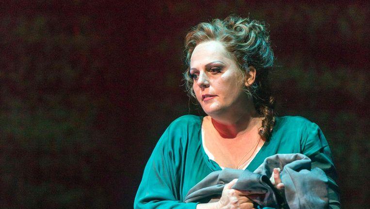 In oktober keert de Nederlandse sopraan Eva-Maria Westbroek terug naar Amsterdam om een maand lang de titelrol te zingen in Puccini's opera Manon Lescaut. Beeld Hans van den Bogaard