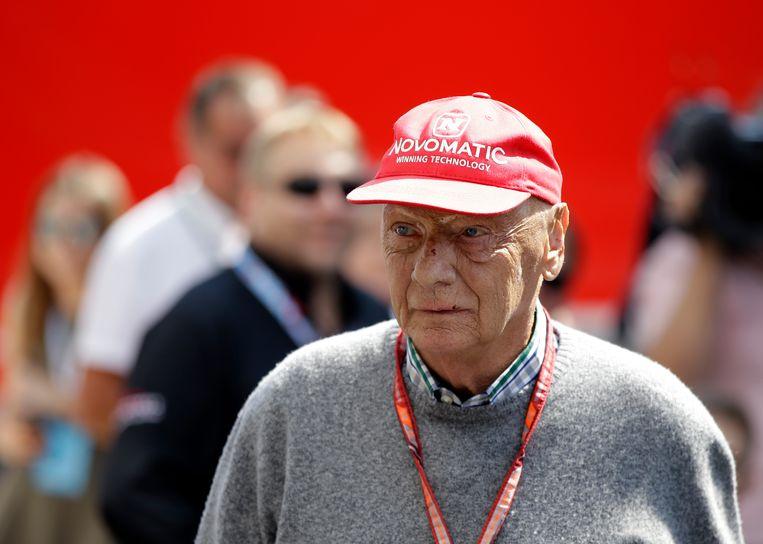 Niki Lauda  Beeld AP