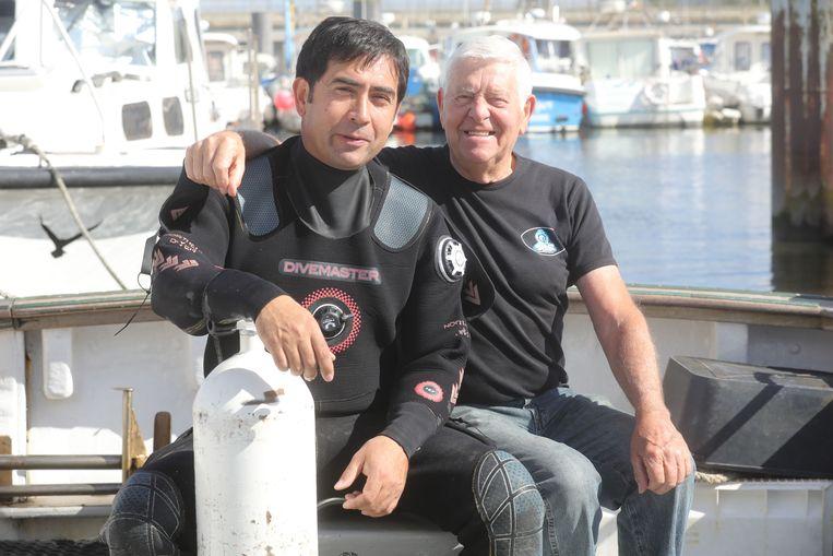 Oostende duitse duikboot uit eerste wereldoorlog gevonden: Tomas Termote en vader Dirk