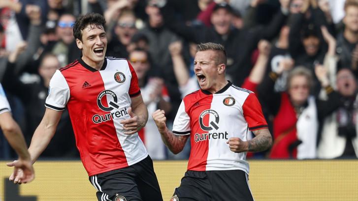 LIVE | Jørgensen brengt Feyenoord op rozen de rust in