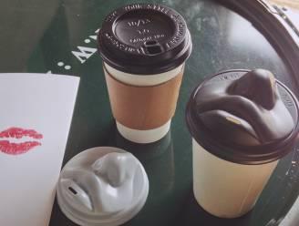 Voor wie net iets té veel van z'n koffie houdt: het kusbare kopje