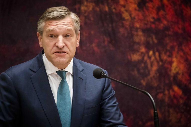 CDA-partijleider Sybrand Buma.   Beeld ANP
