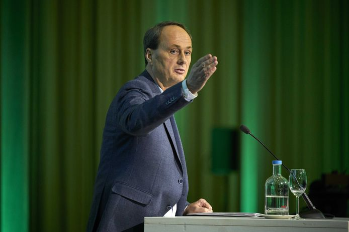 Ruud van der Velden tijdens een eerder partijcongres.