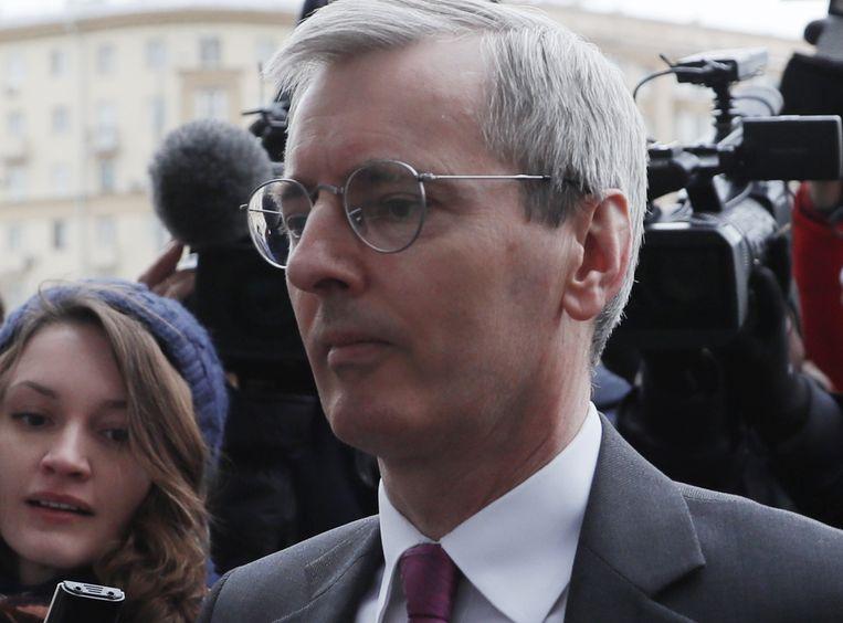 De Britse ambassadeur in Moskou, Laurie Bristow, zei gisteren nog dat Groot-Brittannië een verklaring verwacht van Rusland over hoe het zenuwgas dat is gebruikt bij de aanval op de voormalige dubbelagent in Groot-Brittannië terecht is gekomen.