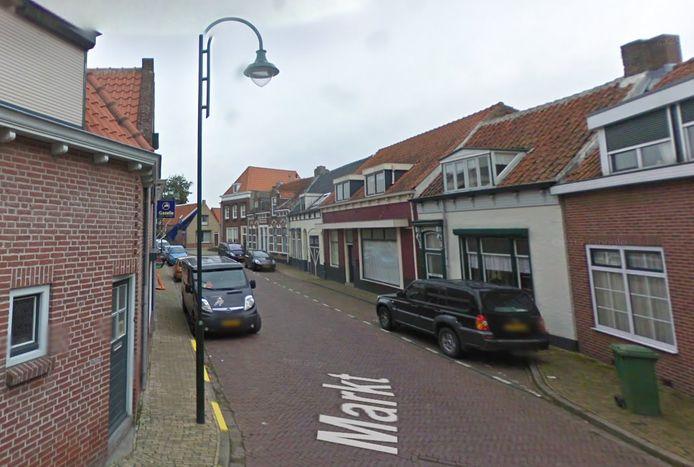 Markt in Poortvliet.
