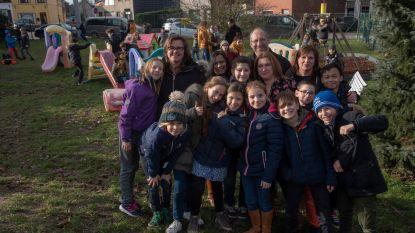 Ouders in de bres voor groene speelweide vrije basisschool Sint-Theresia