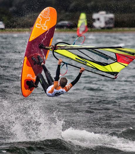 Spectaculaire stunts op het water
