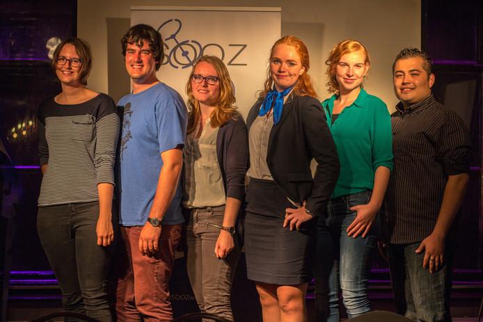 Het nieuwe bestuur van het Studenten Overleg Orgaan Zwolle voor het studiejaar 2016/2017.