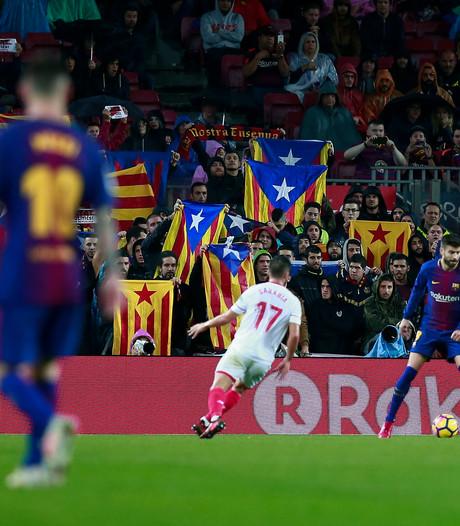 'Camp Nou dicht voor fans bij beledigen Spanje'