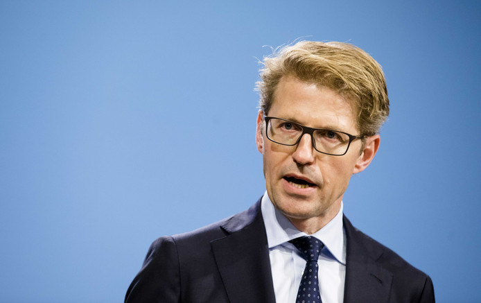 Minister Sander Dekker voor Rechtsbescherming (VVD)
