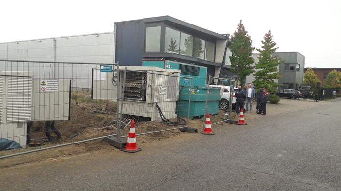 Enexis zet alle zeilen bij om de stroomvoorziening op Korenweide weer op gang te brengen.