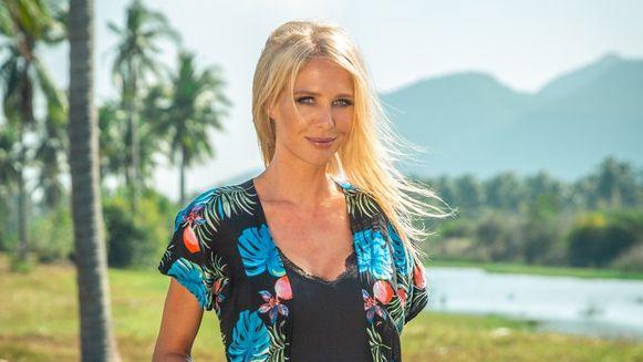 Annelien Coorevits bij de voorstelling van haar vijfde seizoen op 'Temptation Island'.