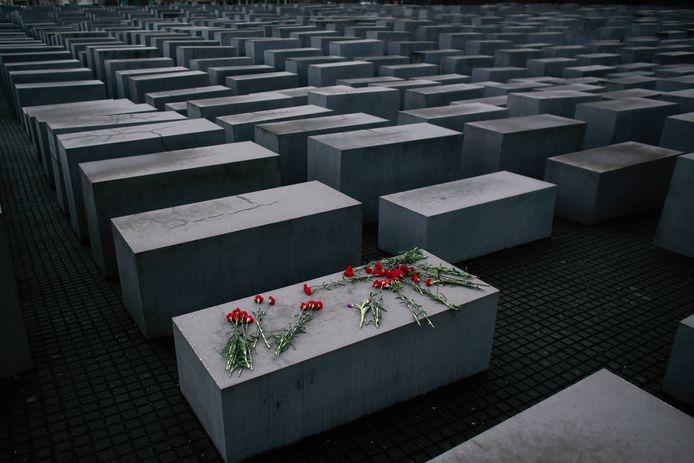 Het holocaust-monument in Berlijn.
