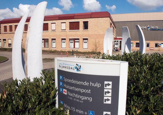 Het St. Jansdal ziekenhuis in Harderwijk.