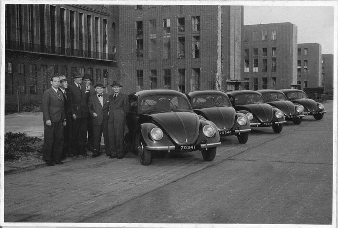 Net na de Tweede Wereldoorlog: de eerste Kevers worden vanuit Duitsland naar Nederland geëxporteerd