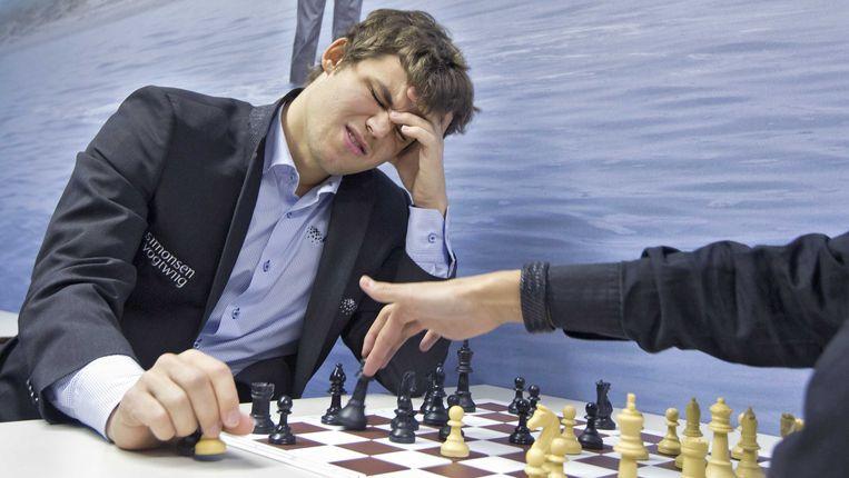 Magnus Carlsen. Beeld null