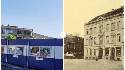 VROEGER EN NU: Het Joseph Possozplein in de jaren dertig van vorige eeuw