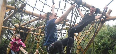 Professioneel klimmen en klauteren op eerste Zeeuwse obstakelbaan